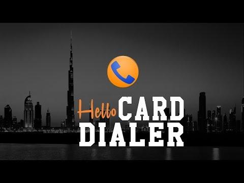 Hello Card Dialer