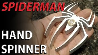 Download SPIDER-MAN Hand spinner fidget toy - 6061 aluminum Video