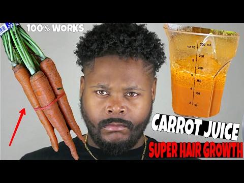 Carrots for Hair Growth! Super Long Thick Hair Magic!