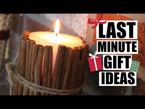 4 Easy, Inexpensive, Last Minute DIY Gift Ideas!