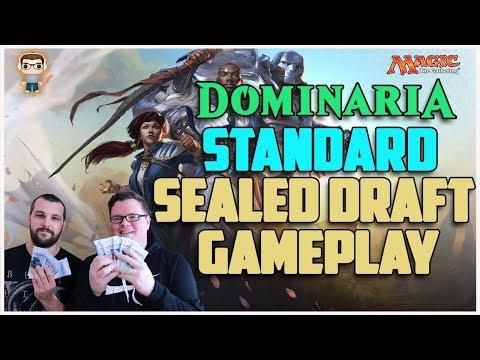 Dominaria Draft Sealed MTG Gameplay - PAPER MAGIC!!