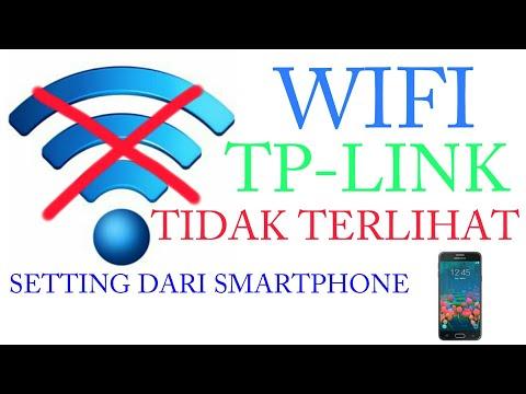 CARA SETTING ROUTER TPLINK WIFI TIDAK TERLIHAT ( HIDDEN ) MEMAKAI SMARTPHONE