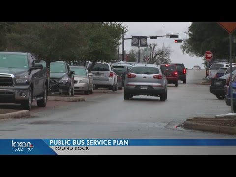 City of Round Rock wants input on proposed bus routes