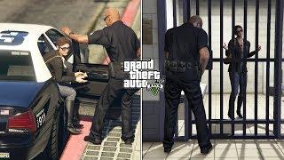GTA 5 - What Happens If Michael Doesn't Save Amanda? (Prison Break)