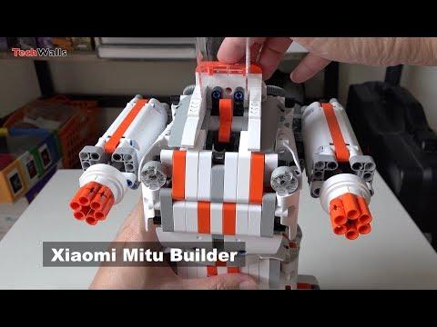 Xiaomi Mitu Builder Robot Unboxing & Testing