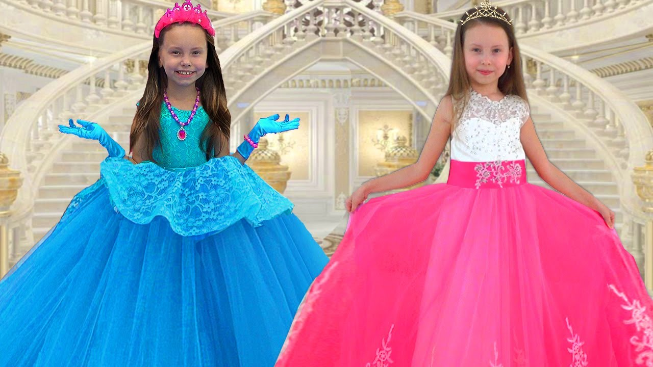 Alice and new Dresses for Princess - the best stories for kids