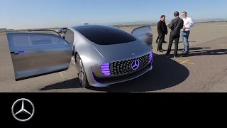 A driving experience of a different kind – the F 015 - Mercedes-Benz original