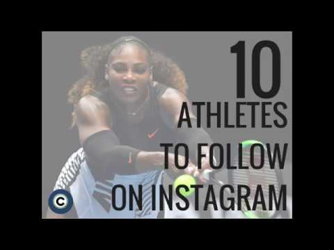 10 athletes to follow on Instagram in 2017