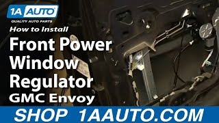 How To Install Replace Upper Ball Joint 2002 09 Gmc Envoy Chevy Trail