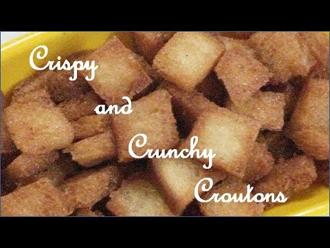 BREAD CROUTONS RECIPE IN HINDI