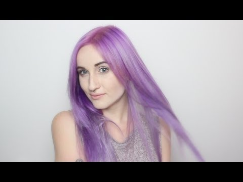 How To Sterling Violet Hair Tutorial | ARCTIC FOX HAIR COLOR