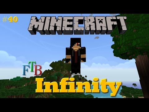Powered Enderman Spawner | Minecraft FTB Infinity #40 [German]