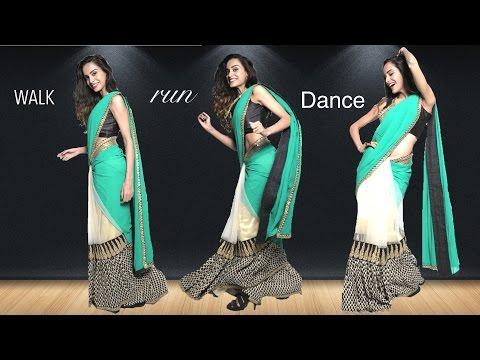 Xxx Mp4 How To Walk Run And Dance In A Saree Saree Draping Hacks 3gp Sex
