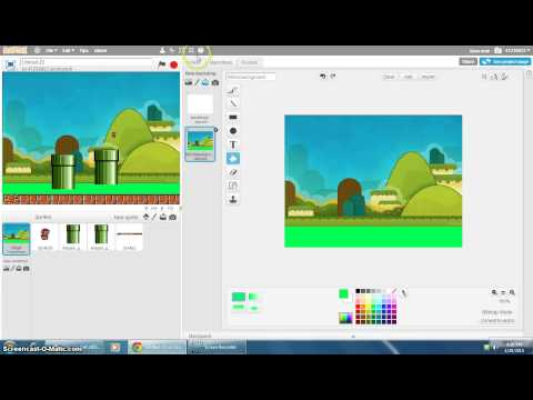 Scratch Noob: How to make a Simple Mario Game