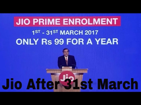 JIO Prime Membership Offer | Unlimited Data Till  2018 March 31st !! Offer Rs.99 [Hindi]