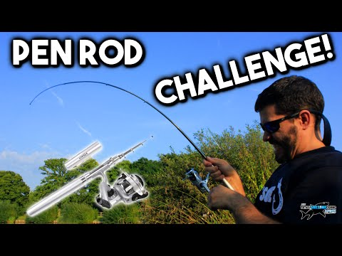 FISHING ROD PEN CHALLENGE!! (Episode 1) | TAFishing