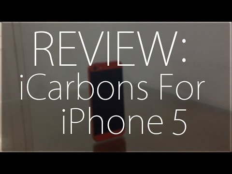 Review : iCarbons For iPhone 5