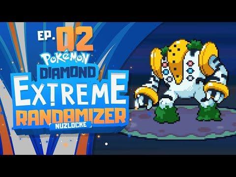 REGIGIGAS ALREADY?! | Pokemon Diamond EXTREME Randomizer Nuzlocke Part 2