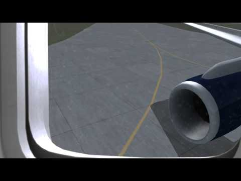 FSX - Boeing 757-200 Taxi + Takeoff (NEW, VERY REALISTIC)