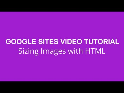 Sizing Images with HTML