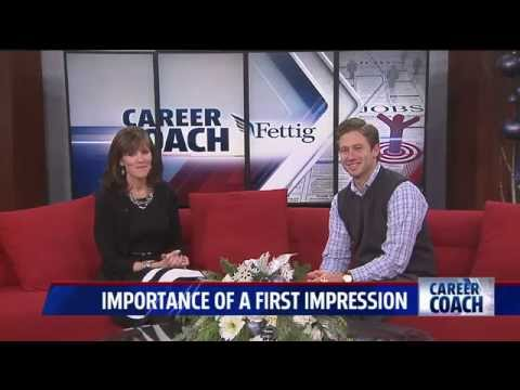 Career Coach on Fox 17 - First Impressions