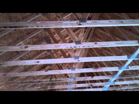 Garage & Laundry Room Addition - Framing & Roof Truss Completion