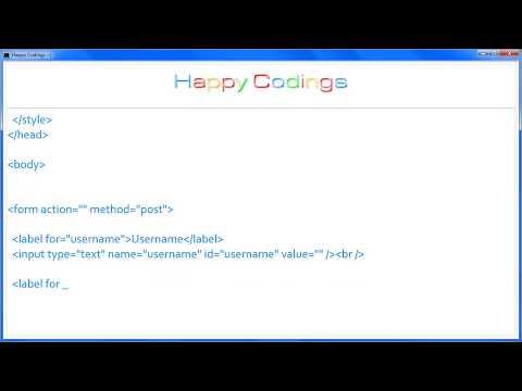 HTML   Label background color