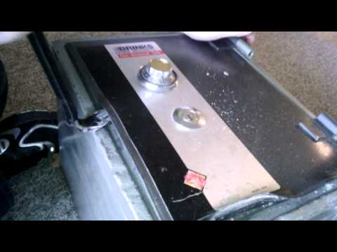 Breaking Into A Brinks Safe (Video#3)