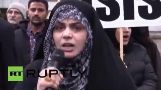UK: Protesters rail against Shia cleric