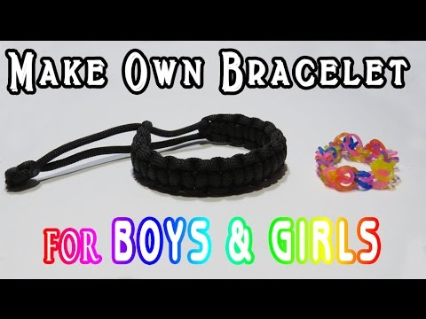 Boys & Girls Bracelet | DIY | Super Easy Bracelet Hack