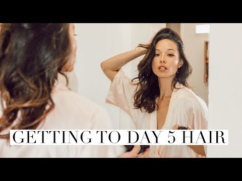 Day 5 Hair | Why I Don't Wash My Hair | Aja Dang