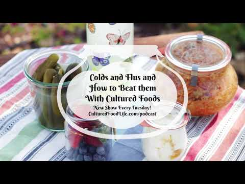 Podcast Episode 22: Colds and Flus and How to Beat them With Cultured Foods