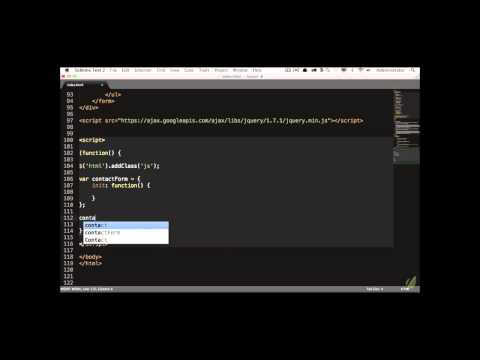 Learn jQuery in 30 Days: Lesson 2.1 - Slides and Structure