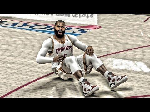 NBA 2K14 Next Gen MyCareer Playoffs - SFG3 Get Back Up | Jordan Carmine 6's