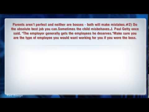5 Tips For Surviving An Unfair Boss