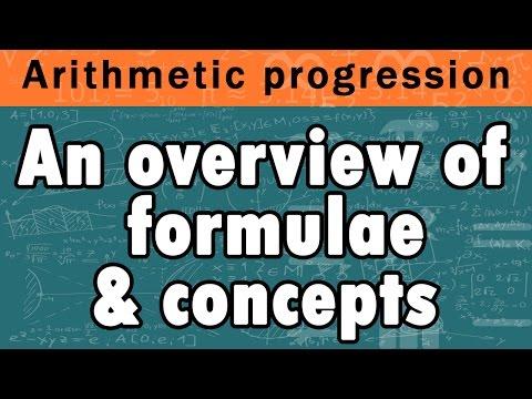 Amazing Trick To Understand Arithmetic Progression Formula | Algebra | Math | Letstute