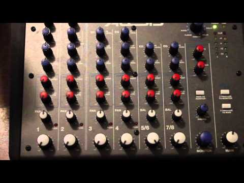 How to use a basic Audio Mixer