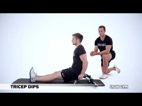 Tricep Dips - IRON GYM® Training Academy