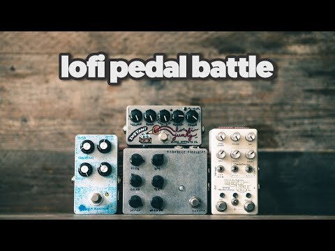 LO-FI PEDAL BATTLE: with Elektron Digitone sounds [ who will win? ]