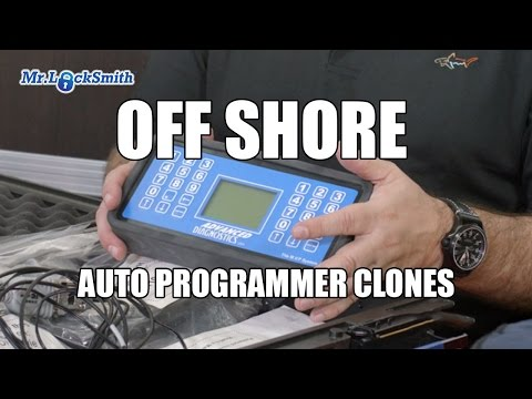 Off Shore Auto Key Programmer Clones | Mr. Locksmith Video