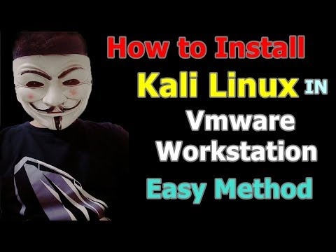 How To Install Kali Linux 2018.4 on Vmware Workstation - Complete Guide 2019