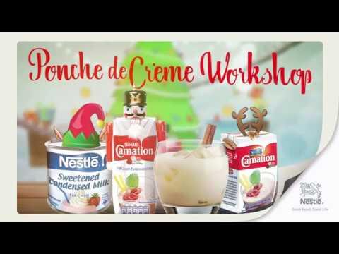 Carnation® Ponche de Crème Workshop