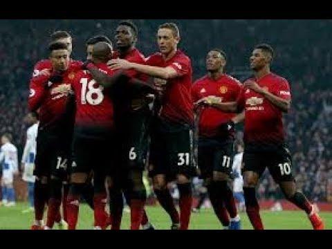 Ман Юнайтед - Брайтон 2-1 Обзор матча 19.01.19. АПЛ 2018-2019 23 тур