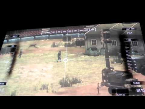 soldados de COD ghost jugando futbol