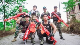 LTT Game Nerf War : Winter Warriors SEAL X Nerf Guns Mod Fight Crime Weapons Dangerous