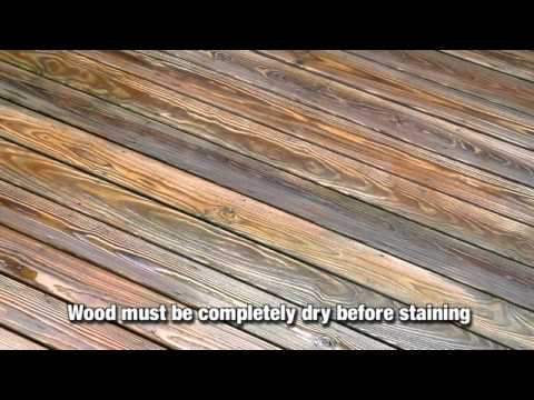 Why Apply a Wood Stain or Sealant?