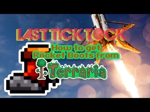 How To Get Rocket Boots in Terraria