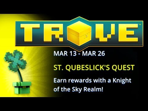 ☘ TROVE ► HOW TO COMPLETE ST. PATRICK's DAY QUEST 2018 ► FREE ST. PAT ALLY!