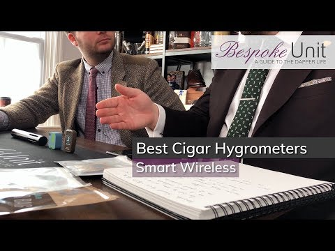 Best Smart & Wireless Digital Cigar Hygrometers: Boveda Smart Sensor, SensorPush & CigSor Review