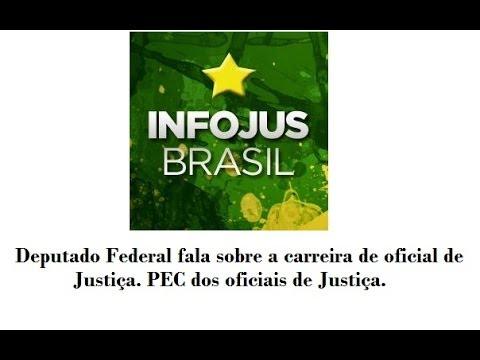 Vídeo: Deputado Federal Ademir Camilo (PROS-MG) fala sobre carreira do Oficial de Justiça